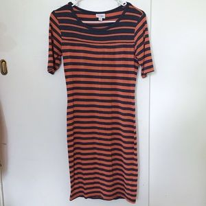 Striped Julia Bodycon LuLaRoe Dress